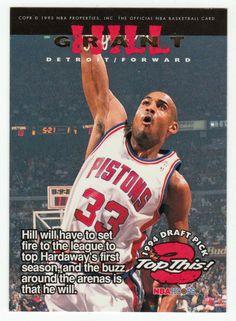 Grant Hill / Anfernee Hardaway # 423 - 1994-95 Skybox Hoops Basketball