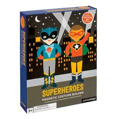 Superheroes Magnetic Dress Up – Petit Collage