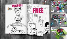 Malbuch - Coloring Book