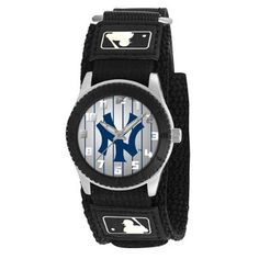 Game Time Mid-Size MLB-ROB-NY3 Rookie Ny Yankees Pinstripe Rookie Black Series Watch: Watches: Sale $19.95 & eligible for FREE Super Saver Shipping  find more items like this at www.ddsgiftshop.com visit and like us on facebook here www.facebook.com/pages/DDs-Gift-Shop/113955198649056