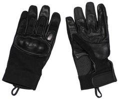 MFH Neopren Handschuhe, schwarz, Knöchel- und Fingerschutz / mehr Infos auf: www.Guntia-Militaria-Shop.de