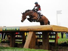 Lindsey Oaks and Enchantez Enchantez looked like hed jump the moon for Rolex rookie Lindsey Oaks. Photo by Sara Lieser.