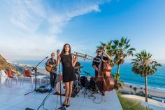 Alanna & These Fine Gentlemen  Featuring Alanna Vicente on vocals & trombone Photo by Sean Paul Franget