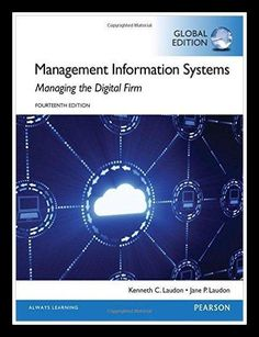 Management Information System 14th edition