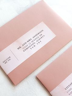 Cute Envelopes, Wedding Invitation Envelopes, Letterpress Invitations, Addressing Envelopes, Wedding Invitation Design, Wedding Stationery, Wedding Fonts, Invites, Wedding Ideas