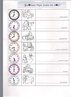 Ejercicio horas