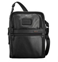 Tumi Alpha 2 Organizer Travel Leather Tote 092116D2   Luggage Pros