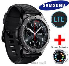 [Free UPS /EMS Ship] Samsung Gear S3 Frontier LTE SmartWatch +Free 2 ScreenGuard #Samsung