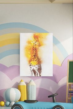 Giraffe Canvas Art - Large Canvas Wall Art Print Freshen up your walls with this vibrant canvas wall art. Professionally printed high resolution, canvas art with vibrant colours and high quality materials. ✅Ready to hang straight out the box. ✅Matte finish coating to avoid unwanted glare. ✅Thick quality poly-cotton blend canvas ✅Fade-resistant - Long lasting durability. ✅Vibrant colours. ✅FREE Delivery Large Canvas Wall Art, Diy Canvas Art, Animal Art Prints, Wall Art Prints, Bedroom Canvas, Canvas Quotes, Vibrant Colors, Colours, Box Frames