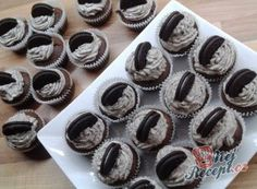 Oreo cupcakes - testo i na jine cupcakes Oreo Cupcakes, Mini Cupcakes, Oreo Cheesecake, Oreos, Food And Drink, My Favorite Things, Breakfast, Recipes, Fitness