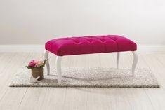 Banca tapitata cu stofa Rose Pink #homedecor #interiordesign #kidsroom #kids Kidsroom, Vanity Bench, Pink Roses, Interior Design, Furniture, Home Decor, Bedroom Kids, Nest Design, Decoration Home