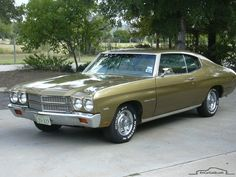 Chevelle | Chevrolet Chevelle: 1964-1972, 1st generation