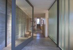 large glass doors entrance simple area interior