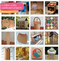 40 ways to repurpose a cardboard box {for the pile of cardboard i just can't seem to put in the recycling bin...}