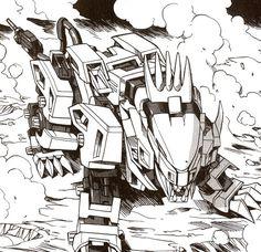 Zoids - Liger zero Cool Robots, Random Stuff, Cool Stuff, Military Army, Gundam, Drawing Ideas, Transformers, Comic Art, Manga Anime