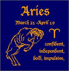 Aries sign of the Zodiac Astrology TShirt XXL by Teesnat on Etsy