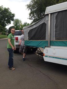 Thrifty Pop Up Camper Renovation