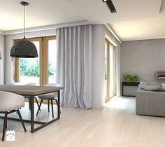 Dom w Przeszowicach - Salon, styl nowoczesny - zdjęcie od A2 STUDIO pracownia architektury