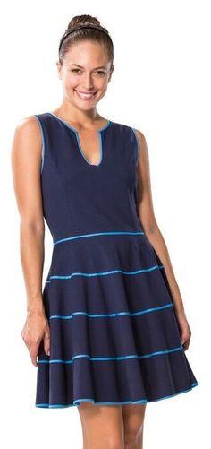 GREAT POINT in PONTE FLIRTY DRESS