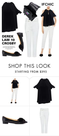 """Designer: DEREK LAM 10 CROSBY"" by ifchic ❤ liked on Polyvore featuring 10 Crosby Derek Lam, Eugenia Kim and IRO"