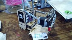 Printrbot Simple by Brook Drumm at Maker Faire