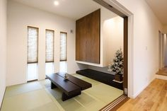 Tatami Room, Zen Room, Relaxation Room, Japanese House, Home Office Design, Entryway, Living Room, Case, Interior Design