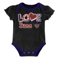 NBA Phoenix Suns Child Bodysuits 3-6 M, Girl's