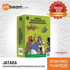 DEAL OF THE DAY !  Pack of Jataka, Panchatantra And Hitopadesha Collection - 23 Titles at Lowest Rate from Infibeam's MagicBox !  #MagicBox #Deals #DealOfTheDay #Offer #Discount #LowestRates #Jataka #Panchatantra #Hitopadesha #23Titles #Books