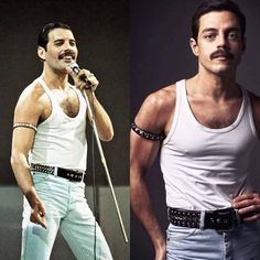 There was not a better possible cast for Bohemian Rhapsody, it's a fact. Rami Malek Freddie Mercury, Queen Freddie Mercury, It Movie Cast, I Movie, It Cast, Rami Malek Queen, Remi Malek, Freddie Mecury, Thing 1