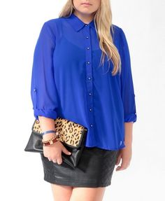 Simple Fall outfit idea..great for a date night! (Forever 21-Plus Size)