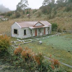 Waiuta Model Village : Caroline McQuarrie Model Village, Oceans, Maine, Landscapes, Shed, Outdoor Structures, House Styles, Home Decor, Paisajes