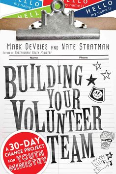 Buy Building Your Volunteer Team: A Change Project for Youth Ministry by Mark DeVries, Nate Stratman and Read this Book on Kobo's Free Apps. Discover Kobo's Vast Collection of Ebooks and Audiobooks Today - Over 4 Million Titles! Youth Group Activities, Youth Groups, Youth Group Events, Therapy Activities, Church Outreach, Youth Ministry, Ministry Ideas, Ministry Leadership, Youth Leader