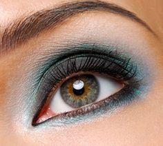 Voorbeelden makeup oogschaduw bij groene ogen | Rubriek.nl