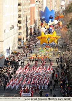 Attend the Macy's Thanksgiving Day Parade
