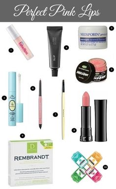 10 Steps to the Perfect Pink Pout + Favorite Lip Care Products