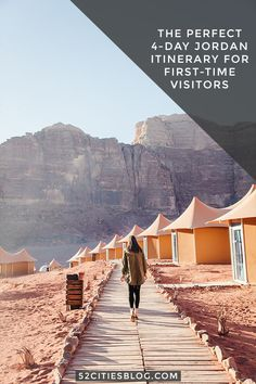 Traveling to Jordan for the first time? Click here for your Jordan itinerary. that's perfect for new visitors getting their first taste of this amazing country! You must visit Aqaba, Petra, and Wadi Rum.     #VisitJordan #MiddleEast #BestTavelDestinationsMiddleEast #DeadSea #PetraGuide #WadiRumTravel #Petra #WadiRum #Jordan #PertraJordan #DeadSea #TravelGuide #FirstTimeVisit #BestTravelTips #TravelAdvice #TravelGuideLayout #TravelItinerary #Itinerary #TravelBlogger #52CitiesBlog