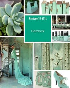 Monday Mood Board – Pantone Hemlock Inspiration