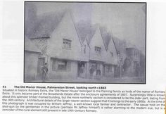 The Old Manor House Palmerston Street looking north c1865