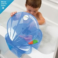 Finally, a place for all those bath toys!