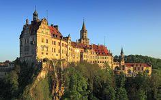 German Castles | Sigmaringen Castle, Upper Danube Nature Park, Danube River, Germany