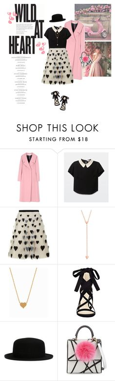 """""""Hello Sweetheart!"""" by lisalockhart ❤ liked on Polyvore featuring Marni, Alice + Olivia, Minnie Grace, Nine West and Les Petits Joueurs"""