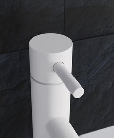 The finest components and materials ensure that MPRO delivers on flow performance and, just as importantly, safety and water efficiency, with WRAS and TMV2 certification. #bathrooms #bathroominspiration #whitebrassware #whitetaps #blackbathroomideas #darkbathrooms Dark Bathrooms, Bathroom Taps, Water Efficiency, Bathroom Inspiration, Basin, Toilet Paper, Monochrome, Flow, Safety
