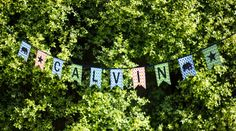 Personalised Little Boys Bunting by ArabesqueScissors on Etsy