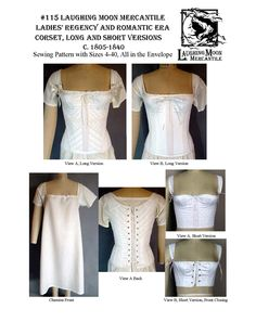 We are the designer and producer of Sewing Patterns for Victorian corsets, Victorian Clothing Patterns, Regency Tailcoats, Regency Dresses, Regency Clothing Patterns, Frock Coats, Victorian Pants, Edwardian Pants, Regency Pants, Breeches, Pantaloons, Spencer, Regency Corset, Ladies Wrappers, Victorian Ball Gowns, Regency Vests, Victorian Mens Vest, Double Breasted Vests, Men's Shawl Collar Vests, Georgian Tailcoat, 1800's Tailcoat, 1812 Clothing. Victorian Clothing Sewing Patterns, Regency…