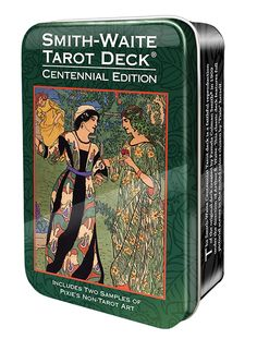 COMING SOON! Smith-Waite Tarot in a Tin