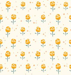 Free Vector | Little roses pattern vector 1163447 - by stolenpencil on VectorStock®
