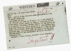 Telegram from the President Johnson's Assistant to MLK Jr inviting him to the signing of the Voter Rights Act of 1965