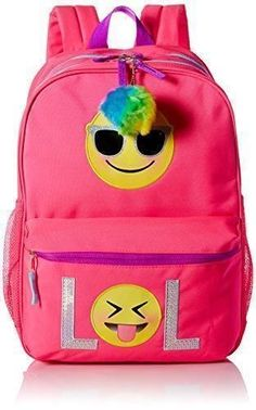 b4fceb7f45d0 Emoji Children s Place Girls  Backpack