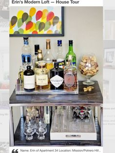 10 Ways to Fit a Home Bar Anywhere