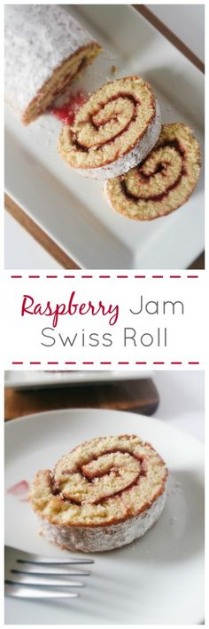 Raspberry Jam Swiss Roll | Marsha's Baking Addiction